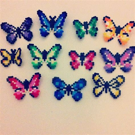 hama bead butterfly pattern 17 best images about hama on perler