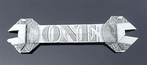 origami folding tool dollar bill wrench by craigfoldsfives on deviantart