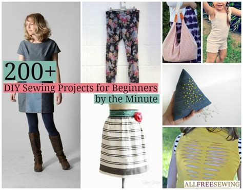 projects for beginners 200 diy sewing projects for beginners allfreesewing