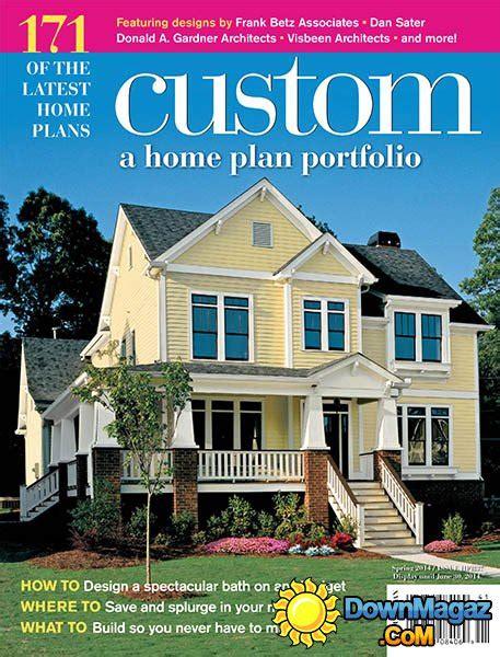 house plan magazines custom a home plan portfolio issue hpr37 187 pdf magazines magazines commumity