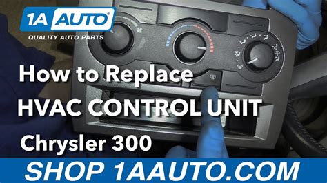 service manual how to replace 2006 chrysler 300 enginge variable solenoid broke 2006 how to replace install hvac control unit 2006 chrysler 300 youtube