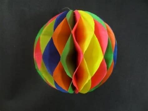 paper balls craft paper crafts how to make a paper honeycomb viyoutube