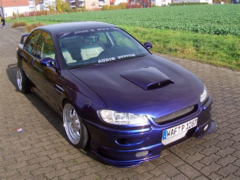 view of opel omega 2 0 photos features and tuning