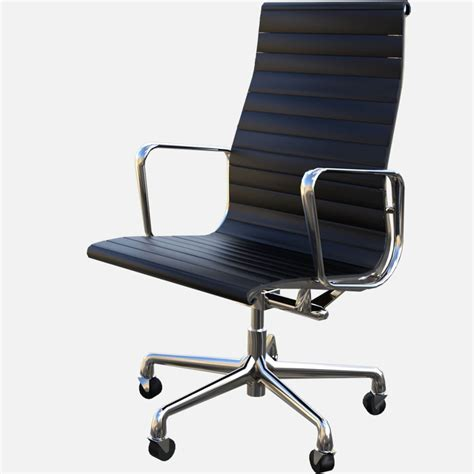 Eames Aluminum Executive Chair by Eames Aluminum Executive Chair Free 3d Model