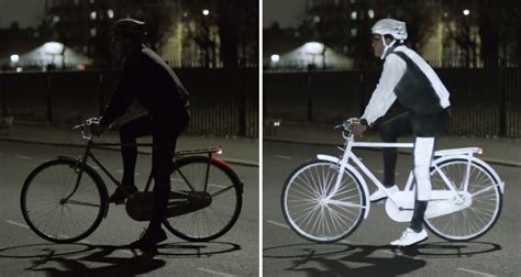 glow in the bike paint volvo this glow in the spray paint by volvo helps keep