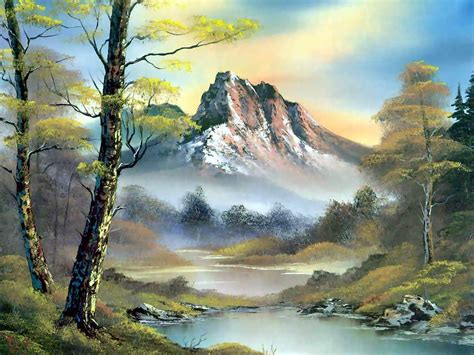 bob ross painting archive brigham woolridge bob ross s lanscape