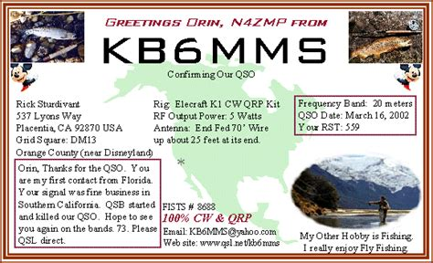 how to make qsl cards home brew qsl cards