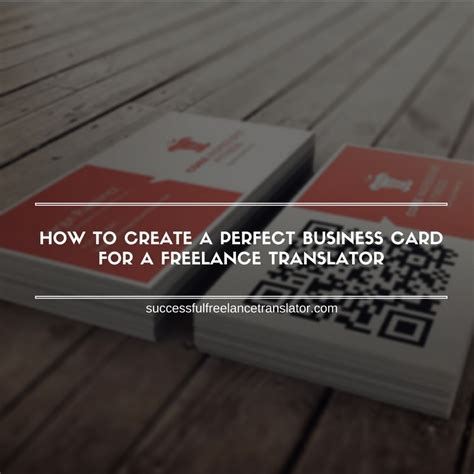 make a bussiness card how to create a business card for a freelance
