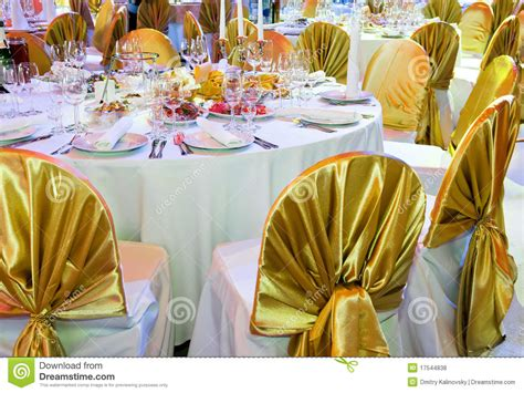 decoration services catering service table decoration stock photo image
