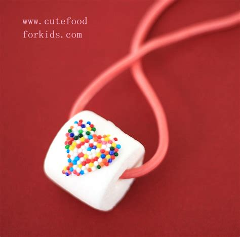 marshmallow crafts for edible marshmallow necklace family crafts