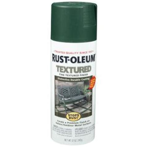 spray paint forest rust oleum stops rust 12 oz protective enamel textured