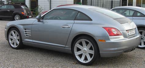 Chrysler Crossfire Wiki by Datei Chrysler Crossfire Rear Jpg