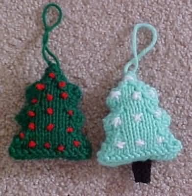 knitted ornaments patterns free tree decorations to knit decorating