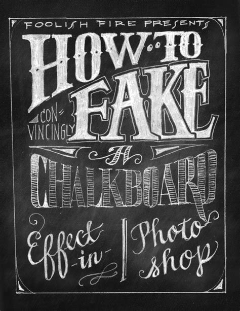 chalk paint photoshop how to a chalkboard effect in photoshop foolish