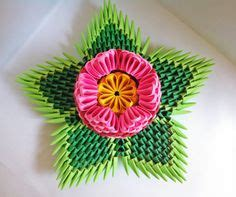 3d origami lotus flower tutorial 3d origami spiral flower bowl by yarnroad on etsy