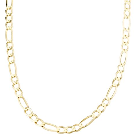 gold chain for jewelry s 14k yellow gold 3 1mm figaro chain
