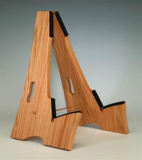 woodworking guitar stand oak wood slay frame wood guitar stand