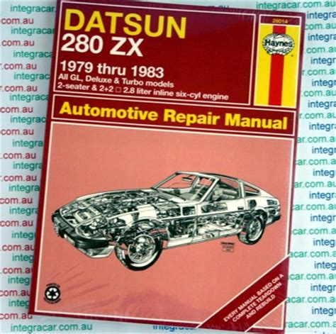 automotive repair manual 1979 nissan 280zx user handbook service manual car owners manuals free downloads 1979 nissan 280zx regenerative braking find