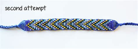 how to make beaded bracelets on a loom loom beading without the loom