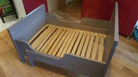 expandable bed frame ikea expandable bedext bed frame with slatted bed