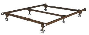 olympic bed frame olympic bed frame heavy duty with bolt on board