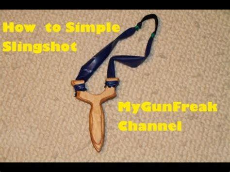 how to make how to make slingshot easy to build mygunfreaks