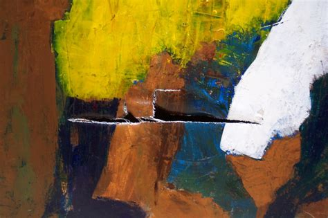 acrylic painting restoration repair restoration of damaged torn paintings oliver