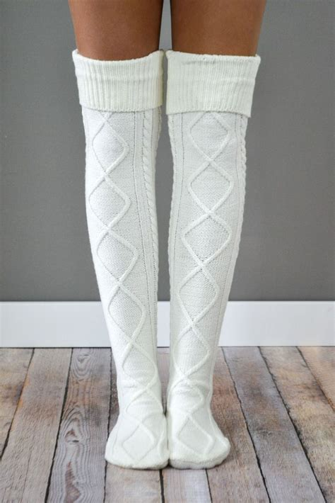 knit boot socks cable knit boot socks fast free shipping