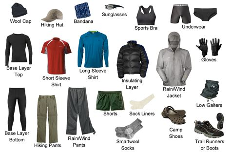 for clothes clothing the at hiker
