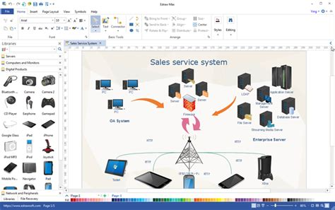 Office Floor Plan Software all in one visualization software edraw max