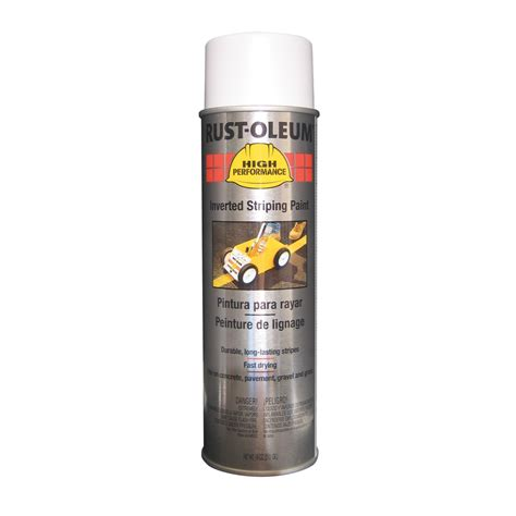 spray painter lowes shop rust oleum 18 oz white matte spray paint at lowes