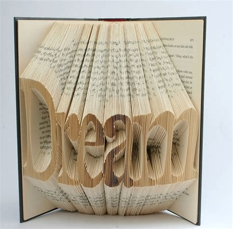 how to do book origami book origami typography the ultimate inspiration bit rebels