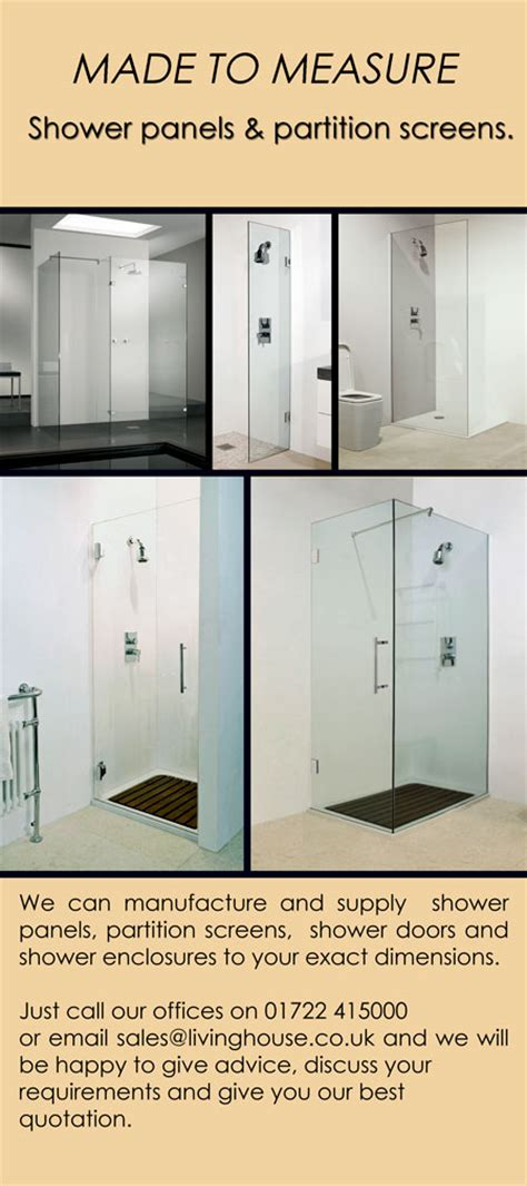 Room Dividers Made To Measure Bespoke Shower Screens Glass Shower Screens Livinghouse
