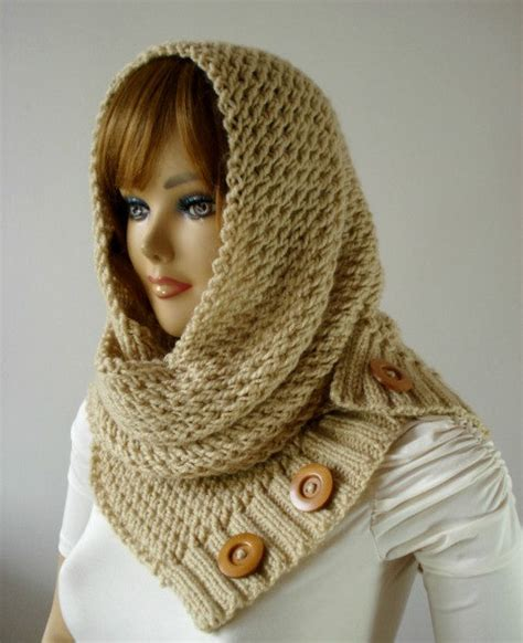 hooded cowl knitting pattern knitting pattern hooded cowl scarf loulou scarf cowl
