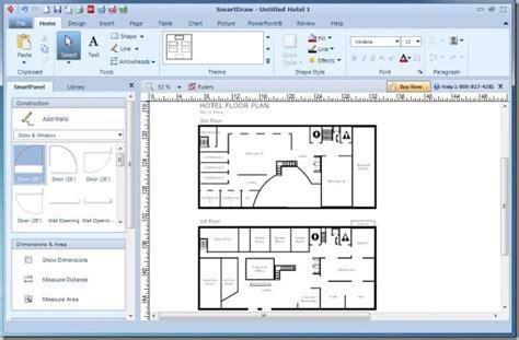 Smartdraw Floor Plan crear diagramas para powerpoint con smartdraw