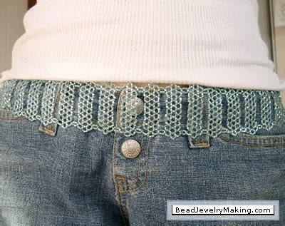 how to make a beaded belt beaded turquoise belt