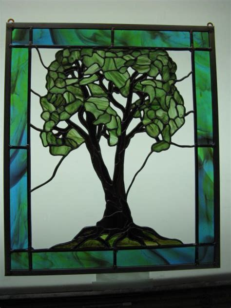 tree glass 240 best trees leaves stained glass images on