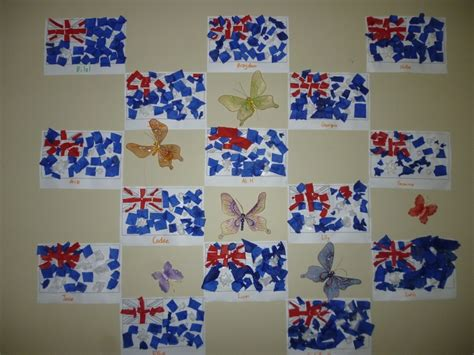 australia day craft aussie flag australia day craft flags and