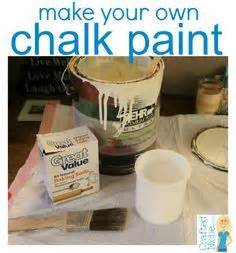 diy chalk paint gritty chalk paint my fave recipe so far not gritty at