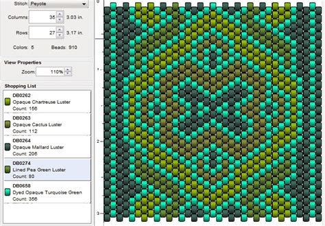 peyote beading patterns imaginesque beading peyote stitch pattern 13