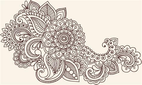 design a ornament floral ornament coreldraw free vector 17 498