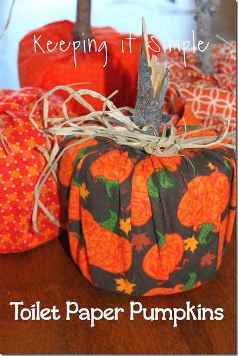 toilet paper pumpkins craft 17 best images about kiddie paper towel toilet paper