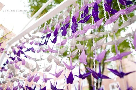 origami crane wedding wedding origami paper cranes origami for your wedding