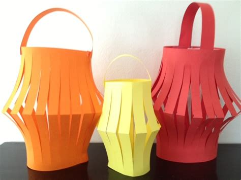 paper craft lantern lantern paper craft