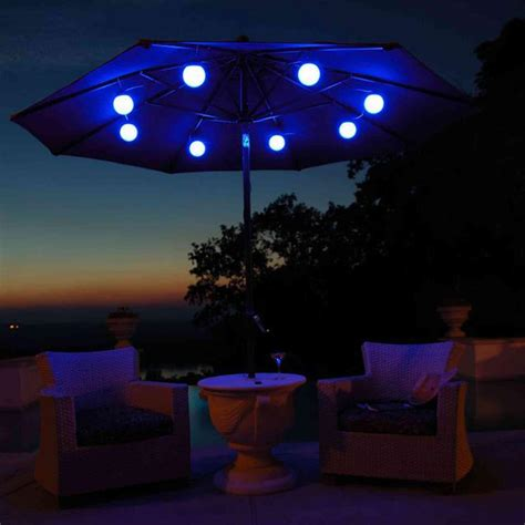 patio umbrella with solar led lights outdoor umbrella with solar lights decor ideasdecor ideas