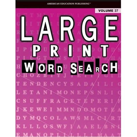 picture search books large print word search puzzle book vol 37 school