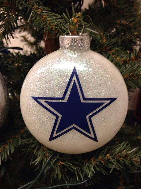 cowboy tree ornaments tree ornament nfl football dallas