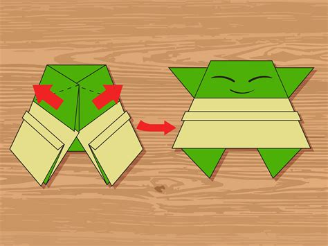 how to create origami 3 ways to make an origami yoda wikihow