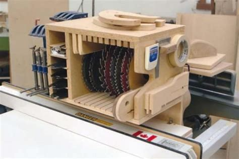 woodworking shop storage ideas small shop storage solutions table saw blade storage