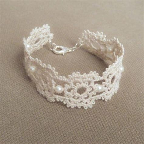 how to make lace jewelry 25 unique lace bracelet ideas on diy crochet